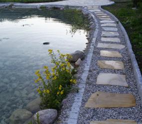 Granit und Sandstein